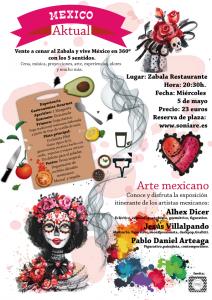 Cena temática Mexico aktual