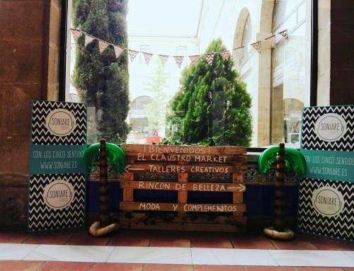 El Claustro Market, en Miranda de Ebro el 24 y 25 de junio