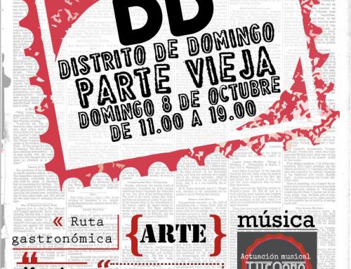 DISTRITO DE DOMINGO, en Miranda de Ebro el 8 DE OCTUBRE