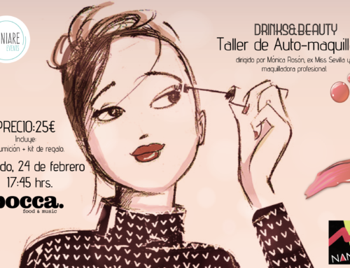 Drinks & Beauty Taller de auto-maquillaje