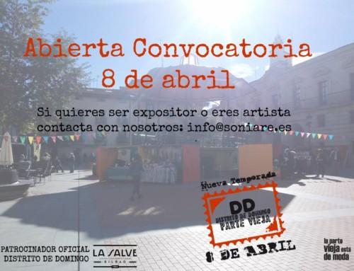 DISTRITO DE DOMINGO, en Miranda de Ebro el 8 de abril
