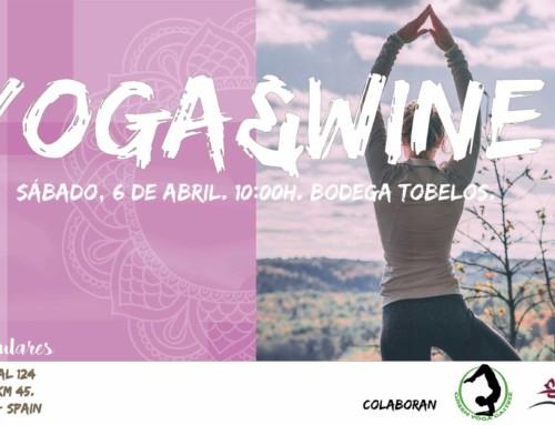 Yoga & Wine en Bodega Tobelos.