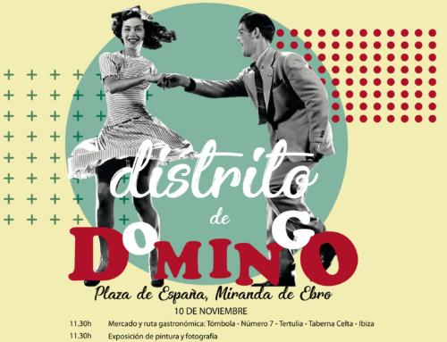 DISTRITO DE DOMINGO, 10 de Noviembre en Miranda de Ebro