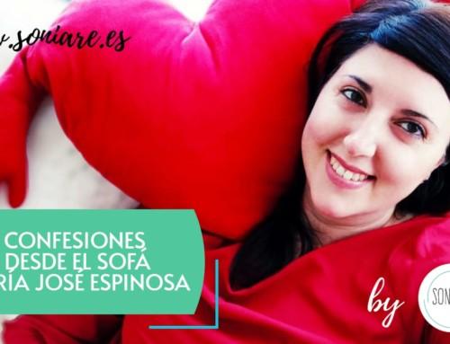 Confesiones desde el Sofá con Maria José Espinosa de Espacio Buscadoras
